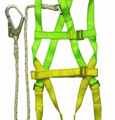 Construction-Working-Protection-Safety-Harness-Belt-with-Rope-Lanyard