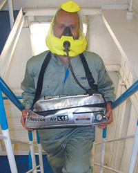 1-EEBD (Emergency Evacuation Breathing Device) RESCUE-AIR L15