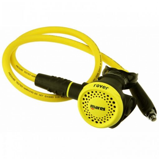 Mares-Rover-Dive-Octopus-Compact-Lightweight-Scuba-Diving-Regulator-Alternative-Soft-Easy-to-Push-Diving-Equipment