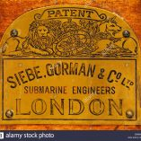 siebe-gorman-co-ltd-submarine-engineers-london-logo-geniemuseum-vught-E906WY
